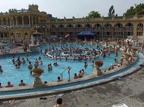 balneario Széchenyi, Budapest
