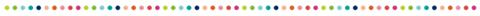 lineas puntitos de colores divisor