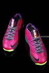 nike lebron 10 low gr purple neon green 1 09 Release Reminder: NIKE LEBRON X LOW Raspberry (579765 601)
