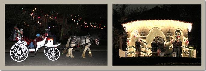 Christmas Hourse and Gazebo