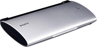Sony Tablet P (kondisi terlipat)