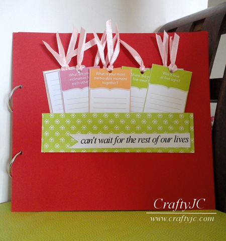 Craftyjc Cards Anniversary Scrapbook With Sizzix And Pti