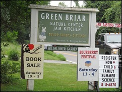 Green Brier Jam kitchen sign 3. 8.3.2013