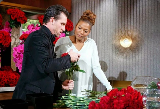 famous 2-jeff-leatham-queen-latifah-television-us-tv-show-talk-chat-interview-flowers-florist-celebrity-stars