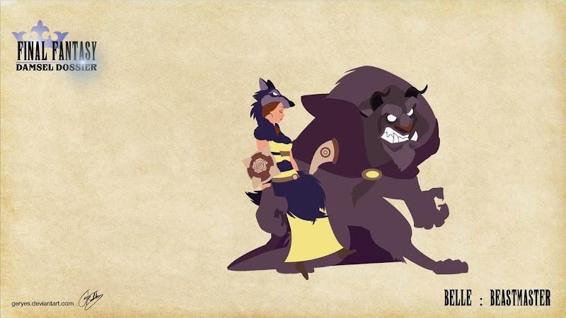 Final Fantasy Damsel Dossier - Belle Beastmaster - by Geryes on deviantArt