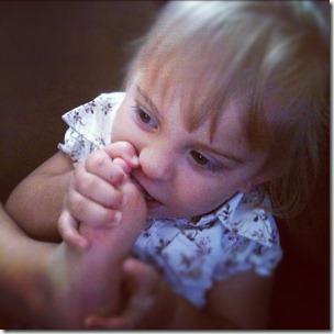 Foot Eating
