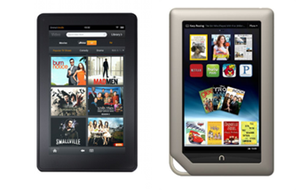 Amazon Kindle Fire VS Barnes & Noble Nook Tablet