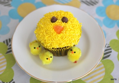 Easter Chicken Cupcake-001