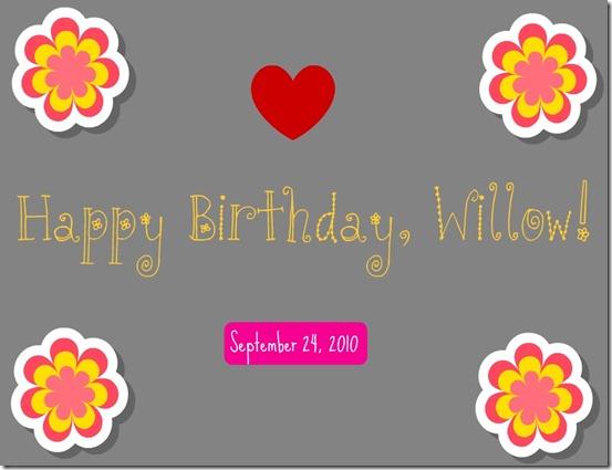 willowbirthday