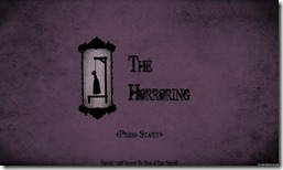 the horroring freeware game