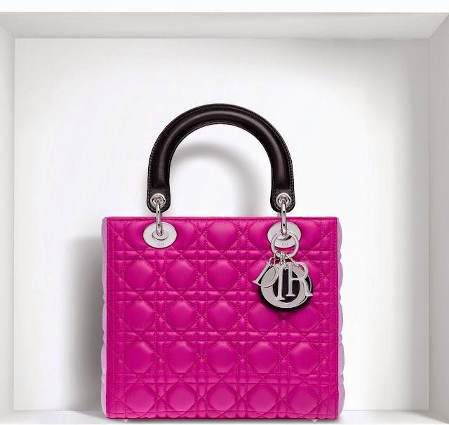 Christian Dior Lady Dior Tricolor