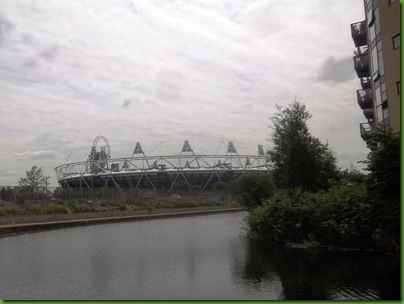 007-1  Entering the Lee Navigation with Olympic Stadium