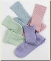 Cashmere Bed Socks - 8 colours