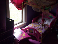 The daughter who lives at 3229 Spruce Avenue was awaken from her bed when the window blew out