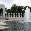 Portion of the WWII Memorial