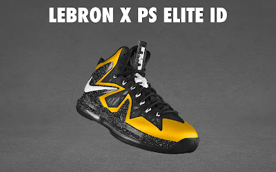nike lebron 10 ps elite id options preview 1 18 NIKE LEBRON X PS ELITE Coming to Nike iD on April 23rd