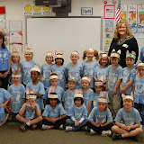 WBFJ Cici's Pizza Pledge - Meadowlark Elementary - Ms. Hocevar's Kindergarten Class - Winston-Salem