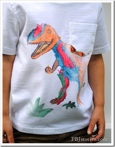 Using your kids art for tshirts with Ink Effects