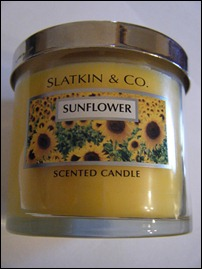 Yankee Candle Sunflower
