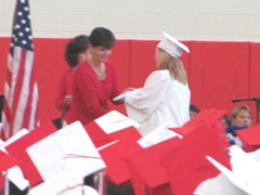 katies graduation getting diploma