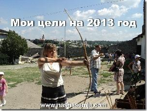 Мои цели на 2013 год