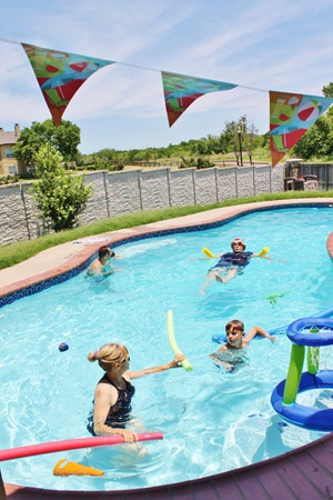 Swim Lessons & Last Day of School 078