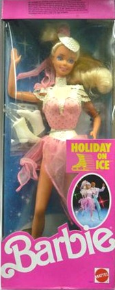 Barbie Holiday on Ice 1989