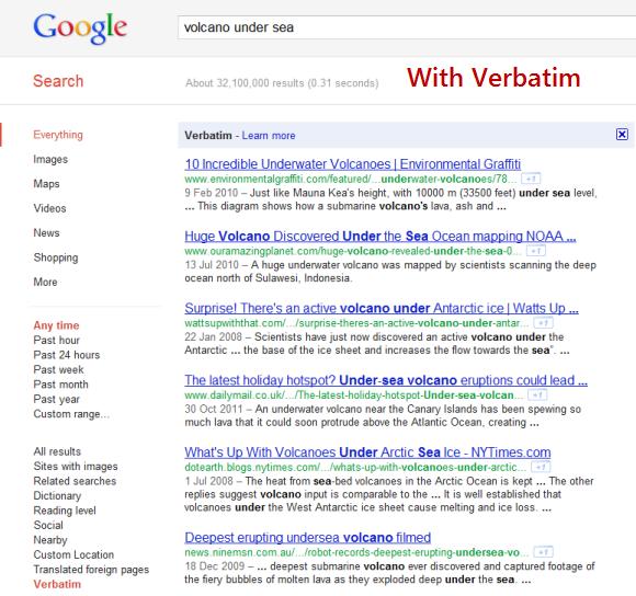 verbatim-with