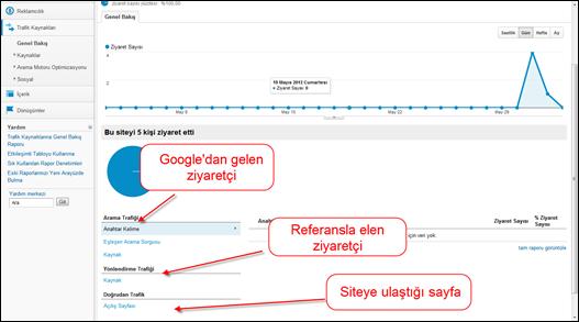 Google Analytics Trafik Kaynakları