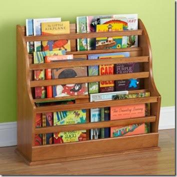 Coole-Ideen-Organisation-Kinderbüchereien-elegante-Regale-Holz