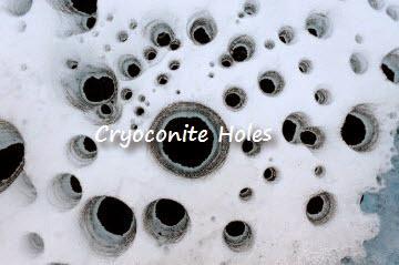 cryoconite-holes
