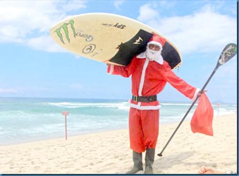 santa playa surf