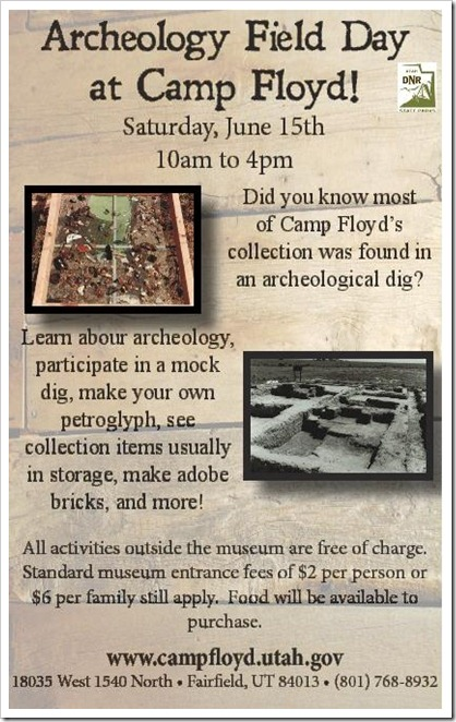 Archeology Field Day