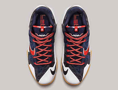 nike lebron 11 gr black white red mango 3 05 independence day Release Reminder: Nike LeBron XI to Rock on July 4th