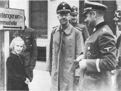 Генрих Гиммлер с дочерью