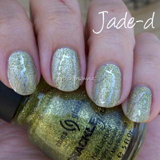 China Glaze Jade-d