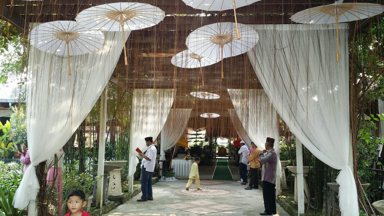 Taman warisan putrajaya garden wedding