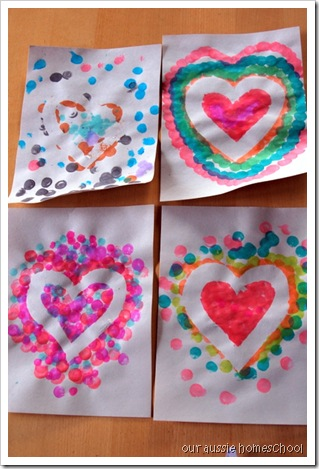 Valentine's Day Activities ~ Our Aussie Homeschool