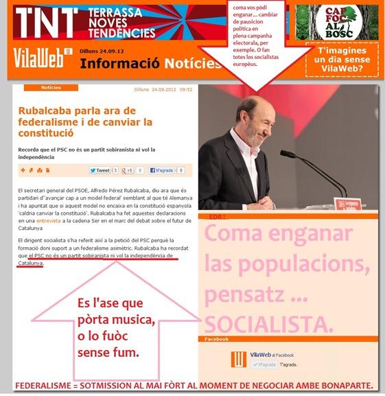 socialistas en plena campanha electorala catalana