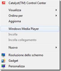 Programma aggiunto al menu contestuale del mouse con DeskIntegrator