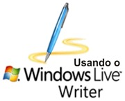 usando o Windows Live Writer
