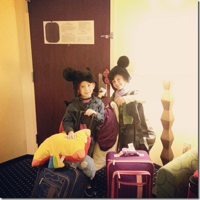 2012-12-30 1 Emma & Camden ready to leave motel