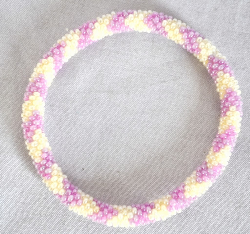 Rollon Glass Bead Bracelets