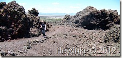 Hiking to Black Crater