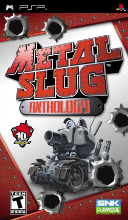 Free Download [PSP] Metal Slug Anthology PSP Games (English)