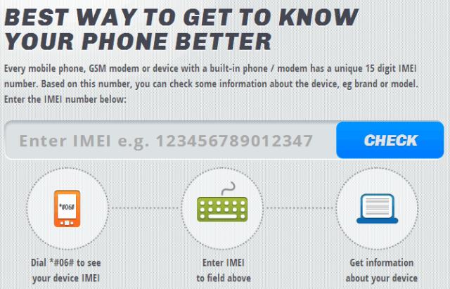 IMEI.info برنامج معرفة هل هاتفك الذكى أصلى أم مقلد لأجهزة الأندرويد و الأنظمة الأخرى