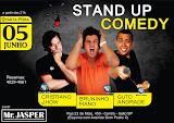 Stand up com Cristiano Jhow, Bruninho Mano e Guto Andrade no Mr. Jasper