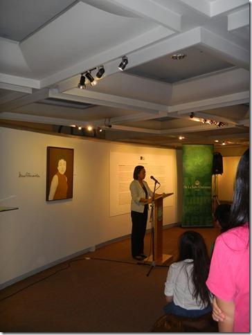 DLSU The Museum Curator Lalyn Buncab