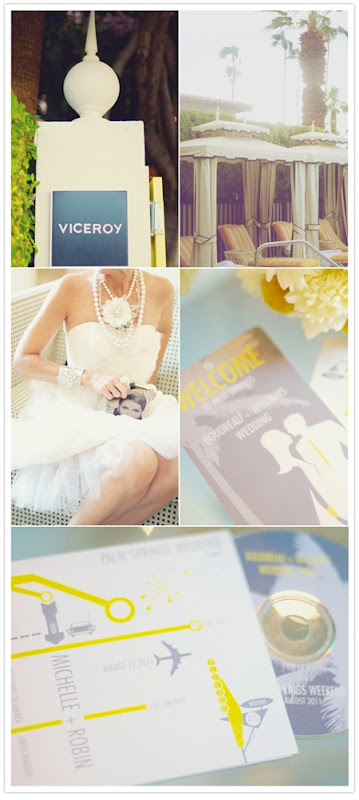 Semplicemente Perfetto yellow-grey-palms-springs-wedding-1