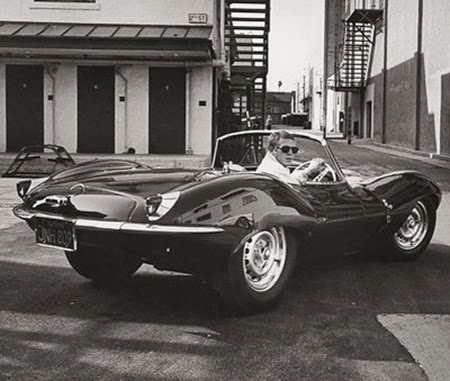 steve mcqueen and car